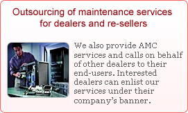 Outsourcing of maintenance services for dealers and re-sellers | Tally.ERP 9 Acctounting Software | Cartridge Inkjet Refill | Desktop, Laptop, NoteBook Computer